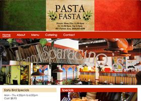 Web Design - Pasta Fasta